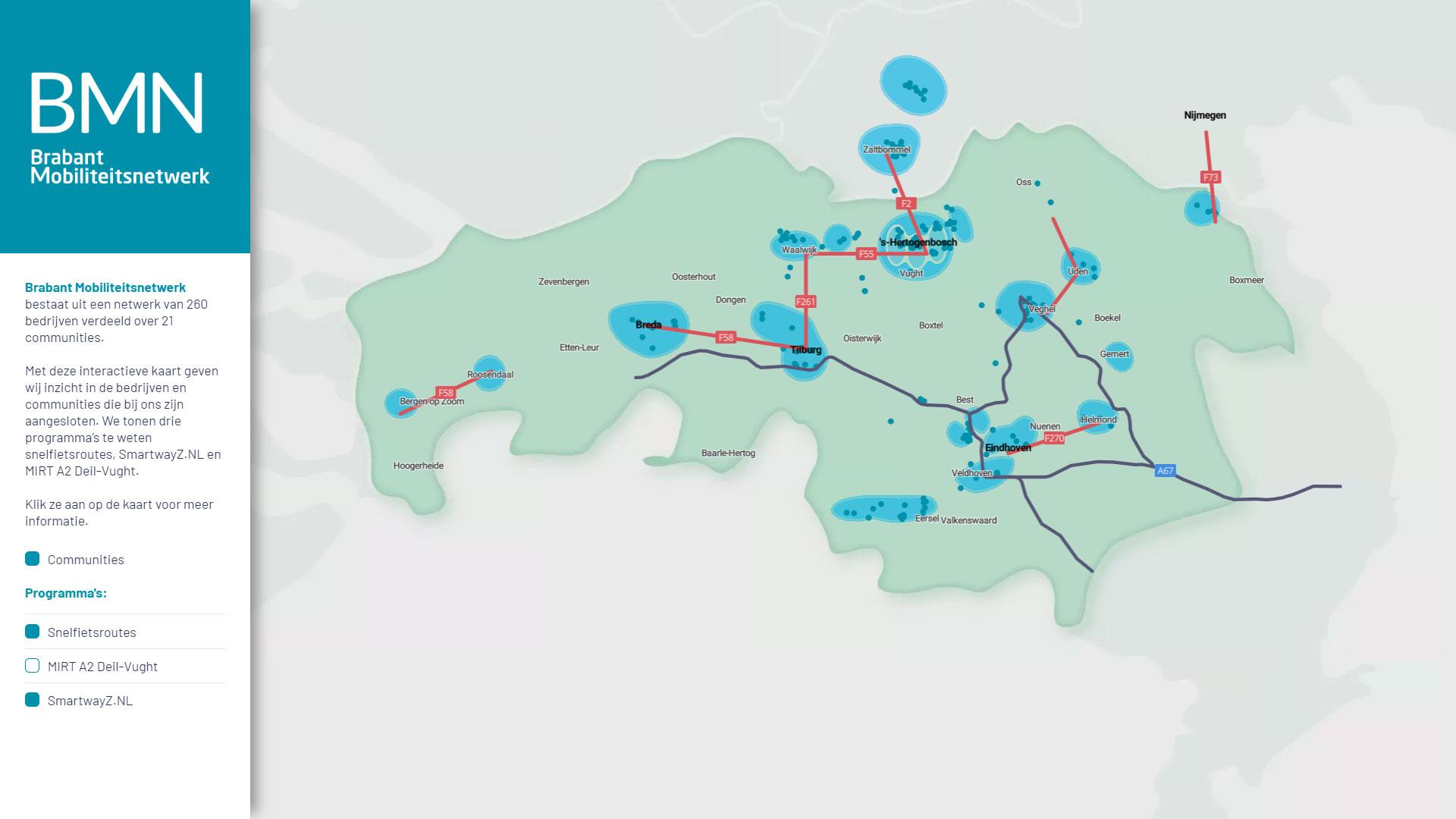 Brabant Mobiliteitsnetwerk header image